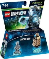lego dimensions fun pack doctor who cyberman gaming merchandise