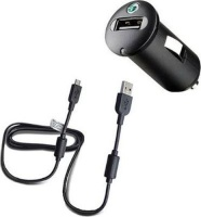sony an401 compact car charger micro cable tablet accessory