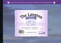 daler rowney langton watercolour paper glued pad 300gsm a4 craft supply