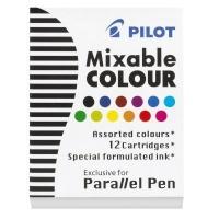 pilot parallel lettering pen ink cartridge set of 12 art supply