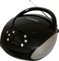 telefunken vcd 633ba portable radio with cd player media player accessory