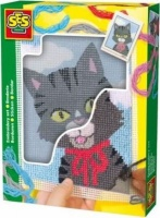 ses creative embroidery cat art supply