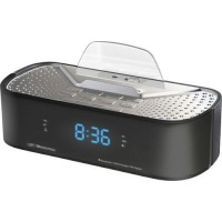 s digital q6 alarm clock radio media player accessory