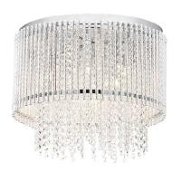 radiant chimes ceiling light 6 globe fitting chrome lighting ceiling fan