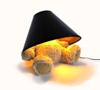 suck uk teddy bear lamp lighting ceiling fan