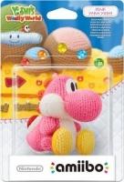 amiibo yarn yoshi pink nintendo wii u gaming merchandise