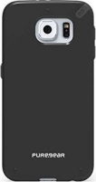 puregear slim shell case for samsung galaxy s6 black