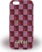 guess jet set hard shell case for iphone 66s pink