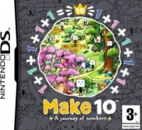 make 10 a journey of numbers nintendo ds game cartridge