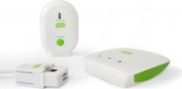 efergy standalone energy monitoring home hub kit including cables adapter