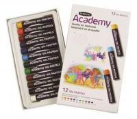 derwent academy oil pastels set of 12 in box art supply
