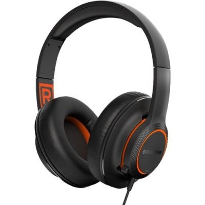 Photo of SteelSeries Siberia 100 SS6142 Wired 3.5mm Black and Orange