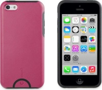 muvit fushion shell case for apple iphone 5c pink