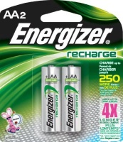 energizer recharge nh15bp2 universal aa 1400mah 2 pack battery