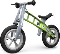firstbike balance bike street green with brake craft supply