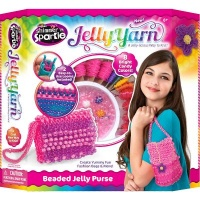 cra z art shimmer and sparkle jelly yarn party purse art supply