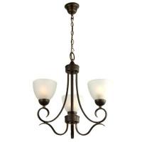 radiant beau chandelier 3 globe fitting bronze lighting ceiling fan
