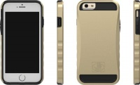 body glove krypton shell case for iphone 6 plus gold