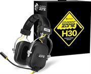 sharkoon shark zone h30 robust gaming stereo headset max