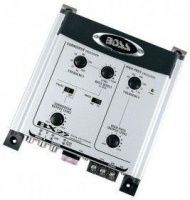 boss audio 2 way electronic crossover wremote level