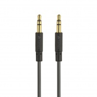 kanex 35mm black stereo audio cable