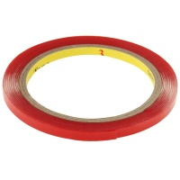 sdp 10 piecess universal 3m car transparent double sided bmx rim tape