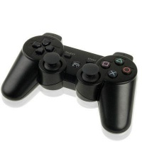 bluetooth wireless dual shock game controller for ps3 built