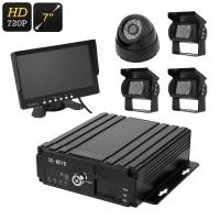 4 channel vehicle dvr kit