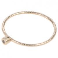 aldo 6 pack multi rings gold tone jewellery set
