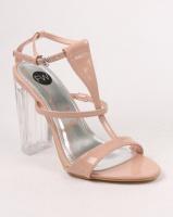 footwork alyssa block heel sandal nude