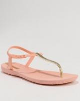 ipanema class exclusive female flip flops pink