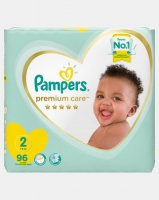 pampers premium care mini size 2 jumbo pack 96 by nappy