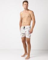 unseen taco swimshort white swimwear