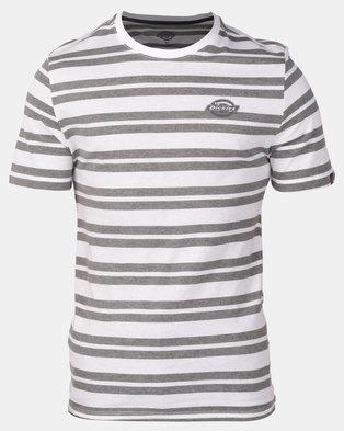 Photo of Dickies Henderson T-Shirt White/Grey Melange