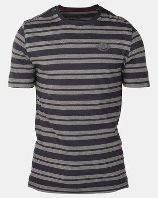Photo of Dickies Henderson T-Shirt Grey Melange/Navy