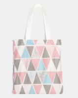 you i and triangle tote bag multi accessory