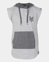 zoo york sleeveless hooded tee grey dh pant