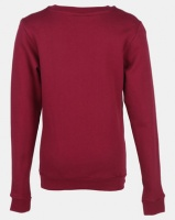 zoo york boys fleece crew neck sweatshirt red dh pant