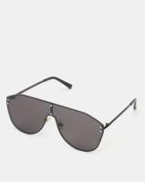 you i and vintage pilot sunglasses black accessory