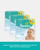 pampers baby wipes fresh 4s 64 bulk pack wipe