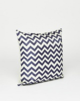 utopia geometric scatter cushion blue cushion