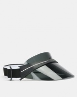 you i and visor with adjustable strap dark smoke tint accessory