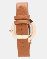 you i and vintage minimalist watch tan accessory