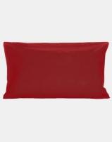 horrockses continental pillowcase crimson bedding