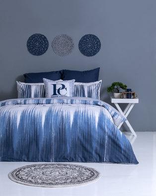 Photo of Pierre Cardin Miranti Duvet Cover Set Blue/White