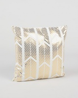 utopia foil scatter cushion cover gold cushion