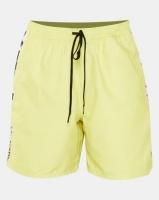 vans v panel volley yellow swimwear