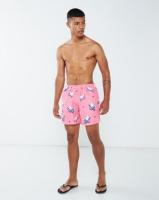 granadilla polar bears swim shorts pink swimwear