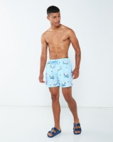 granadilla polar bears swim shorts blue swimwear