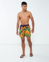 granadilla strelitzias swim shorts navy swimwear